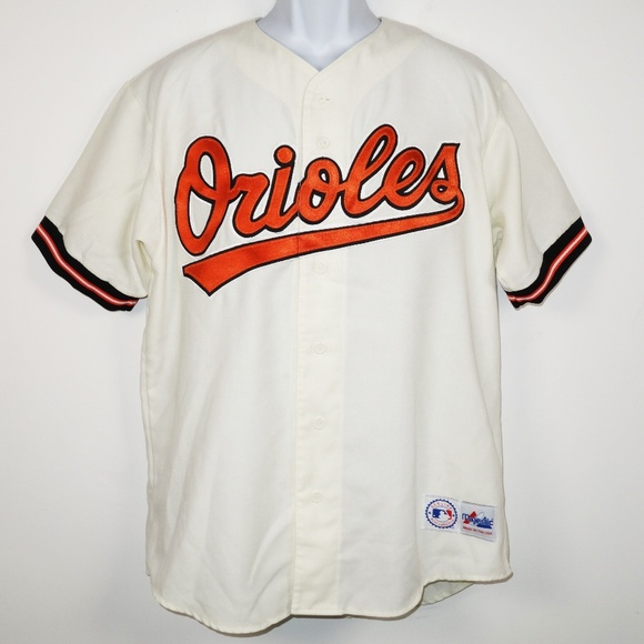ef47141fa Majestic Other - Vtg 90s Majestic Baltimore Orioles Jersey Large
